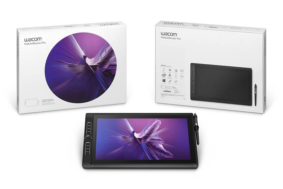 Планшетный ПК Wacom MobileStudio Pro 16 512Gb (DTH-W1621H)