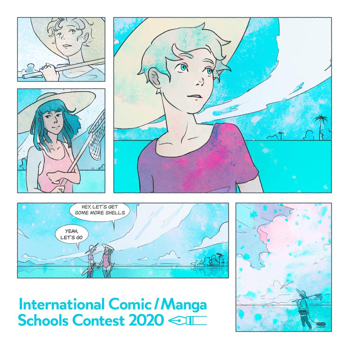 Международный конкурс комиксов и школ манга 2020